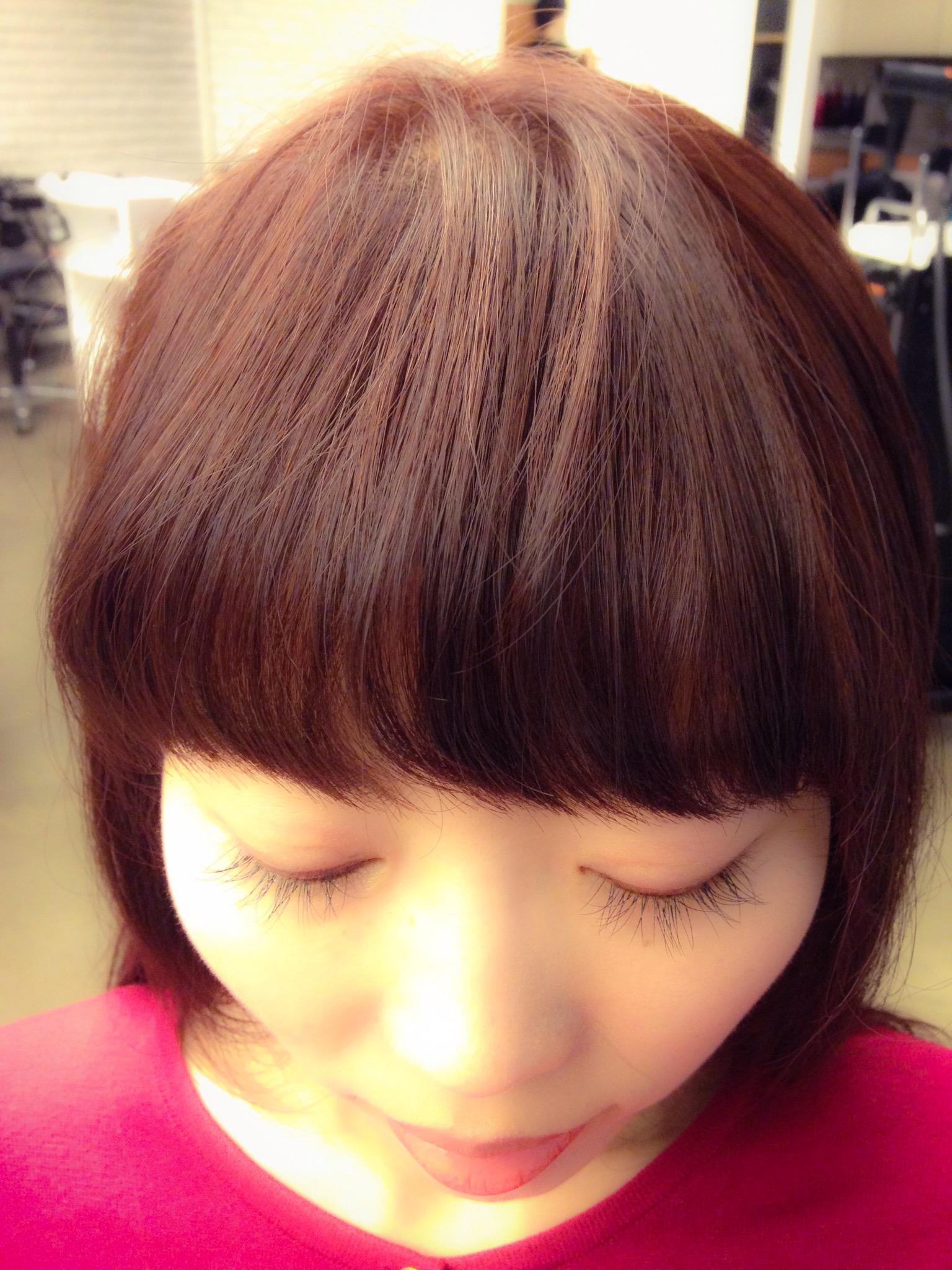 前髪パーマの効果