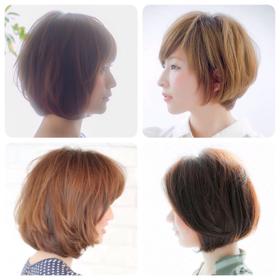 hair style software 吉田羊さん風前下がりボブ 2619