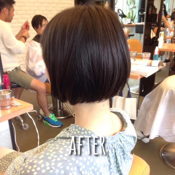 臨月に髪をカット!出産後にラクな髪型って??