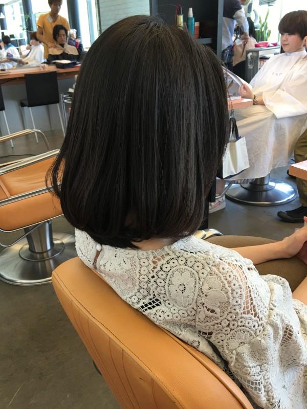 2016年も人気継続中の髪型【ロブ】ヘア