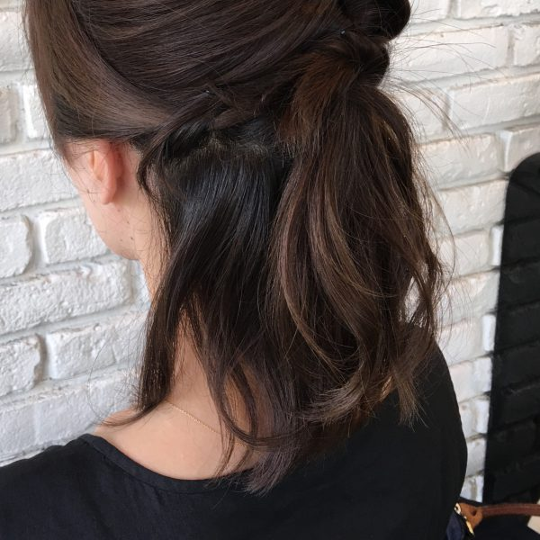 大人に似合うまとめ髪のポイント